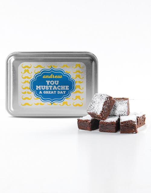 brownies: Personalised Great Day Tipsy Tart Brownies!