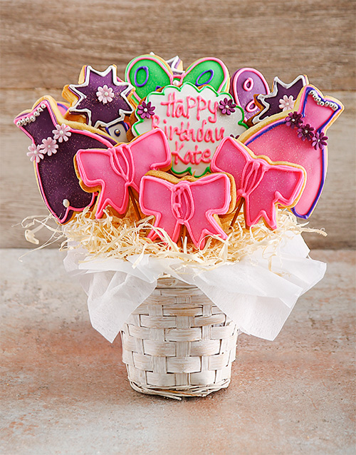 birthday: Princess Party Birthday Cookie Bouquet!