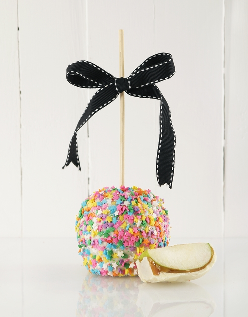 candy-apples: Chocolate Birthday Candy Apples!