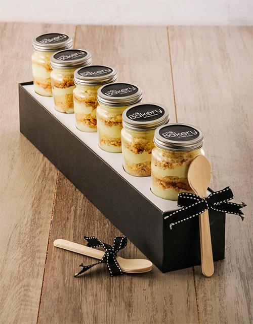 birthday: Half Dozen Milk Tart Cupcake Jars!
