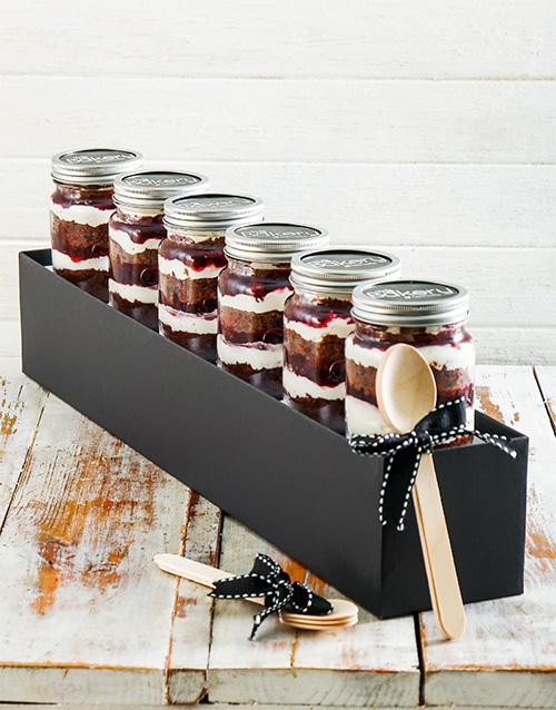 cupcake-jars: Black Forest Cupcake Jar Combo!