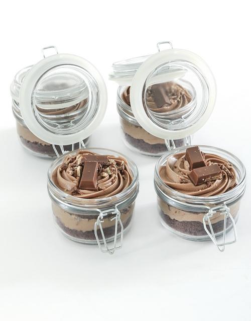 cupcake-jars: Kit Kat Cupcake Jar Combo!