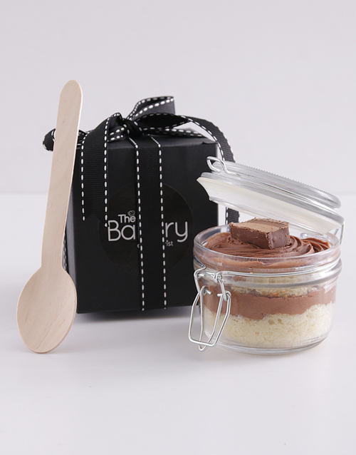 cupcake-jars: Single Bar One Cupcake in a Jar!