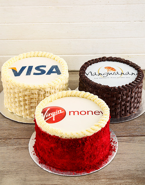 cakes: Corporate Cake with Your Logo!