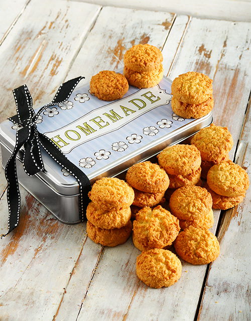 cookies-and-biscuits: Coconut Cookie Tin!