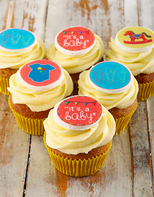 baby: New Baby Cupcakes!