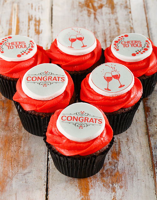 flour-and-flower-collection: Congratulations Cupcakes!