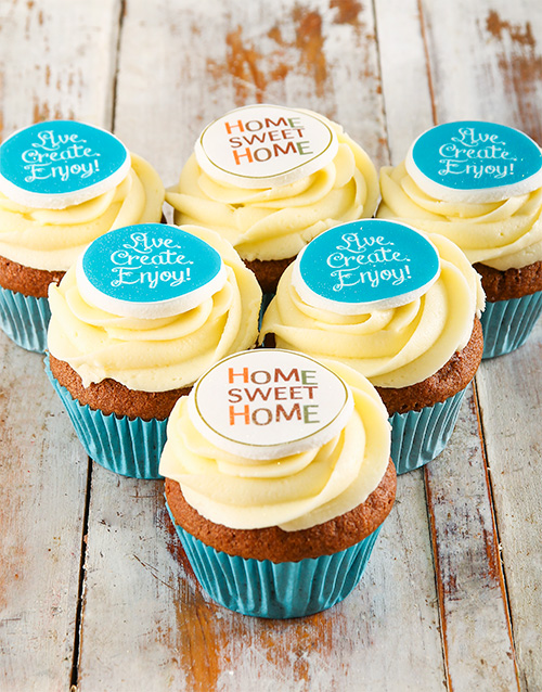 flour-and-flower-collection: New Home Cupcakes!