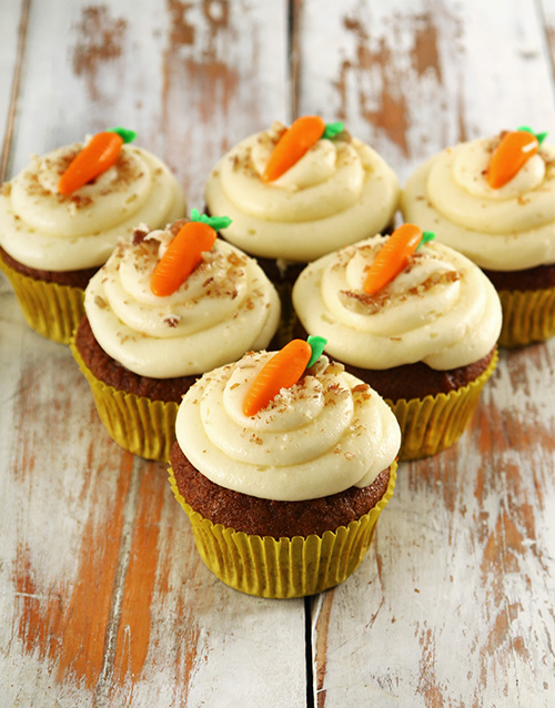 cupcakes: Carrot and Pecan Nut Cupcakes!