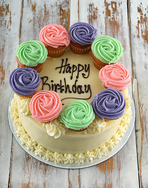 cakes: Vanilla Birthday Party Cake!