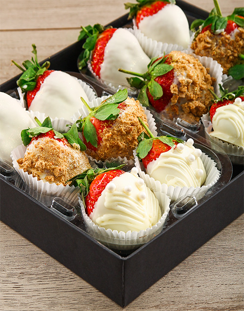 dipped-strawberries: Bride Box!