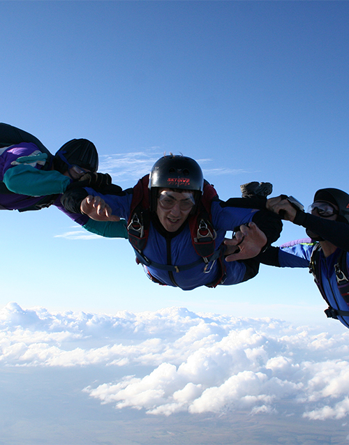 experiences: Accelerated Freefall!