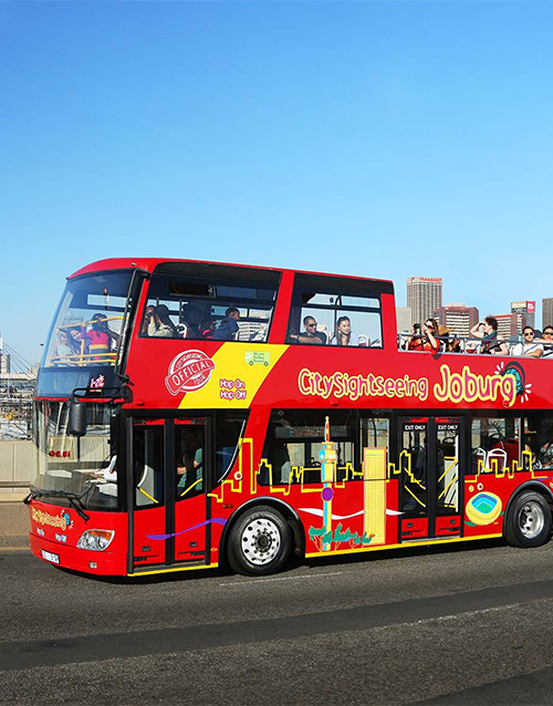birthday: Bus Tour in Johannesburg!