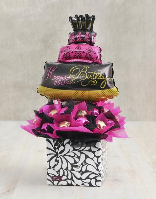 birthday: Birthday Bliss Edible Arrangement!