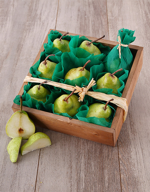 wooden-crates: Wooden Pear Crate!