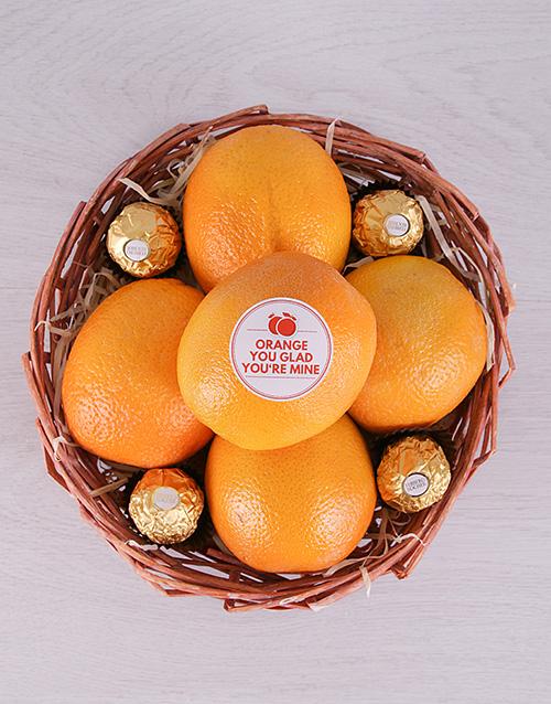 whats-new: Orange You Glad Basket!