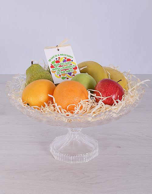 gourmet: Crystal Fruit Arrangement!