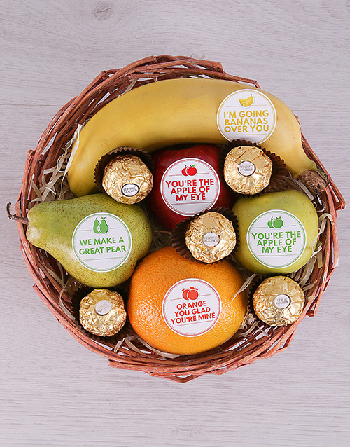 whats-new: Mixed Fruit and Ferrero Basket!