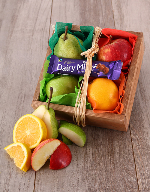 gourmet: Fruit Crate for One!
