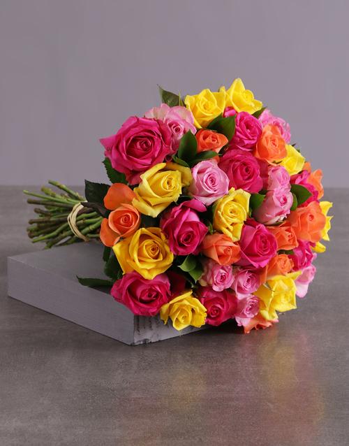 colour: Rosey Revenge Bouquet!