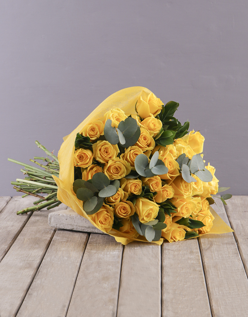 bouquets: Yellow Roses Bouquet!
