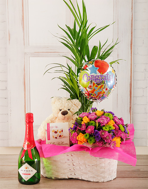 balloon: Congratulations are in order Plant Basket!