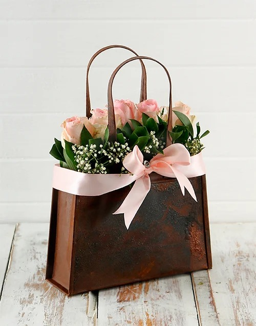 basket: Pink Whimsy!