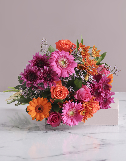 bouquets: Colour Burst Bouquet!