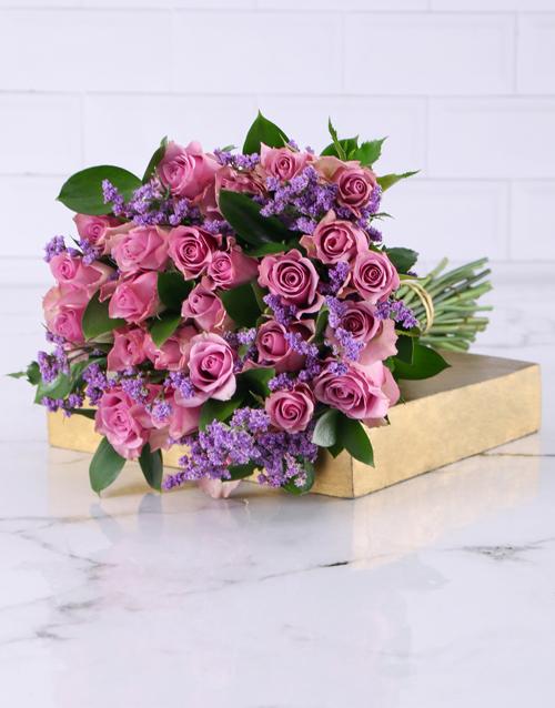 bouquets: Playful Light Purples!