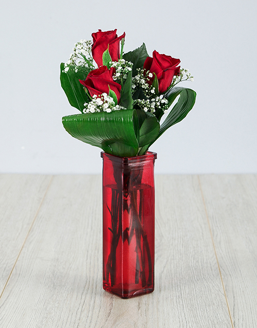 roses: You are One in a Million Red Rose Vase!