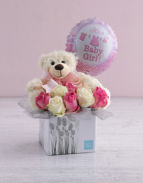colour: New Baby Rose Gift Box!