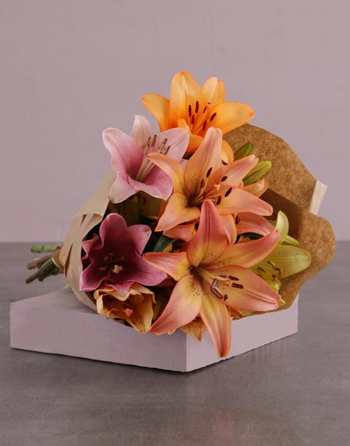 bestsellers: Lilies in Craft Paper!