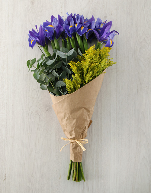 irises: Luxurious Iris Bouquet!