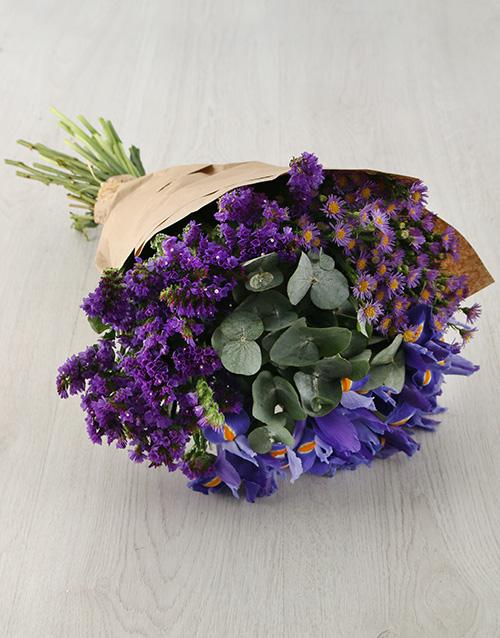 colour: Graceful Iris Bouquet!