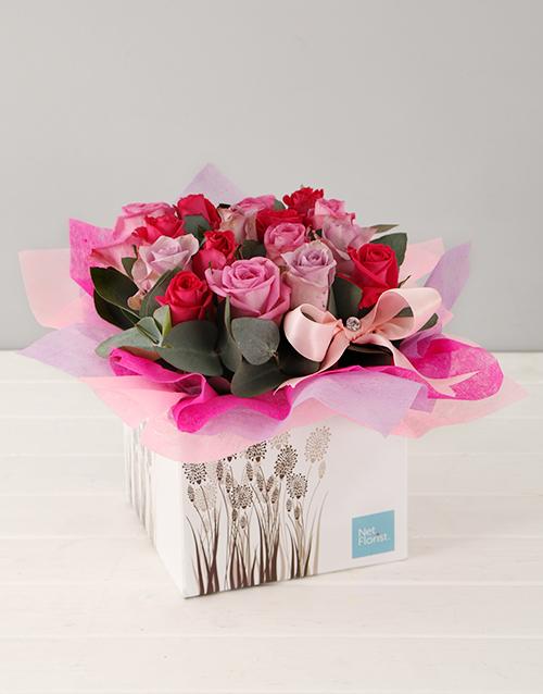 in-a-box: Pink Rose Appreciation Box!