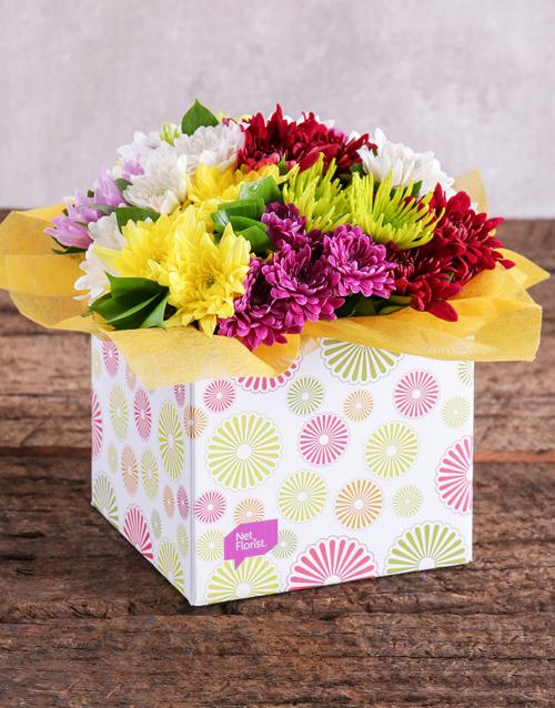 daisies: Sprays in a Spring Box!