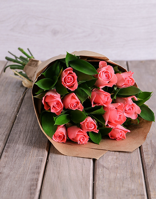Flowers: Blushing Pink Surprise!