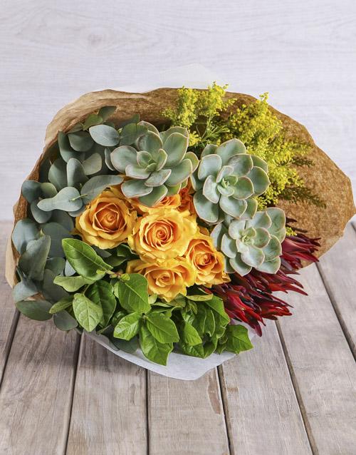 colour: Spikey Mixed Bouquet!