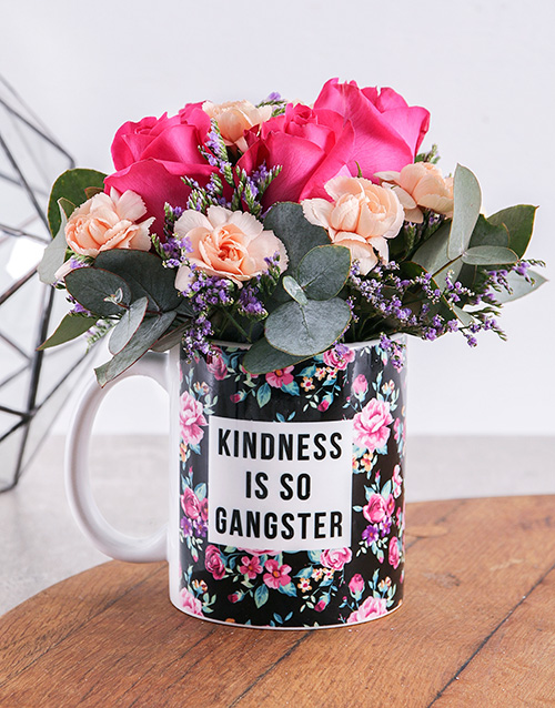 mugs: Kindess Flower Mug!