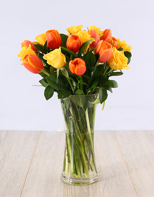apology: Rose and Tulip Vase!