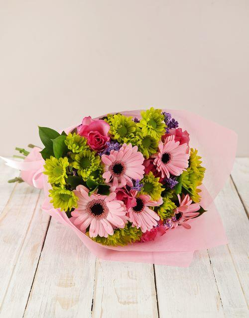anniversary: Gerbera & Rose Bouquet!