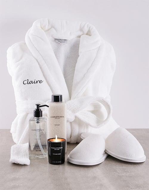 personalised: Charlotte Rhys Personalised Gift Hamper!