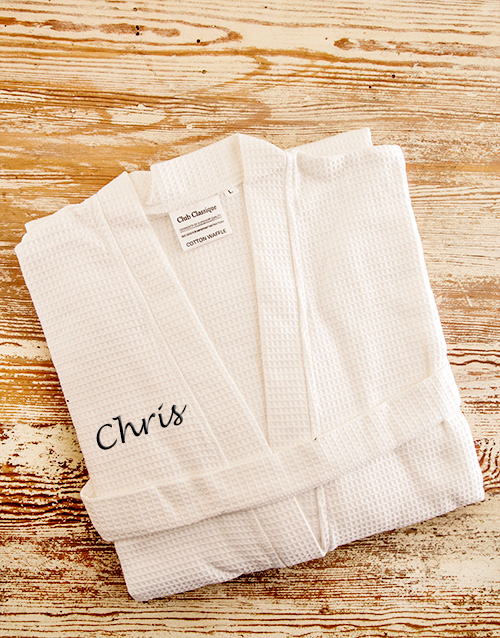 personalised: Personalised White Cotton Gown!