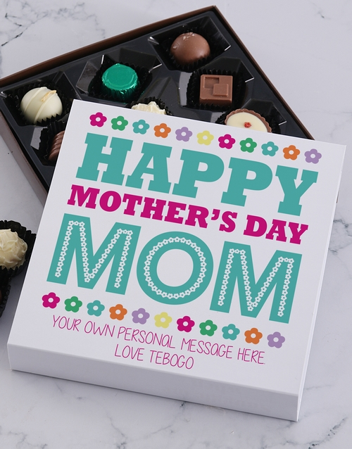 mothers-day: Personalised Happy Mother's Day Choc Tray!