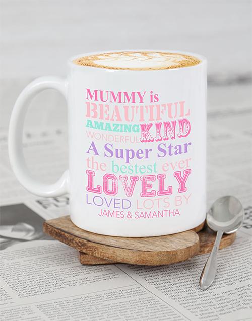 personalised: Personalised Mummy Mug!