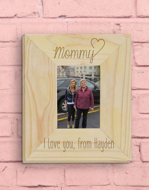 mothers-day: Personalised Mommy Photo Frame!