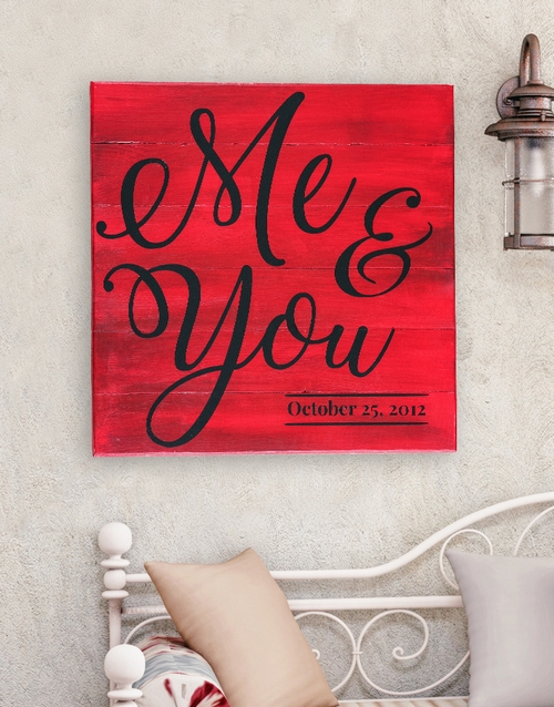 home-decor: Personalised Me And You Wall Art!