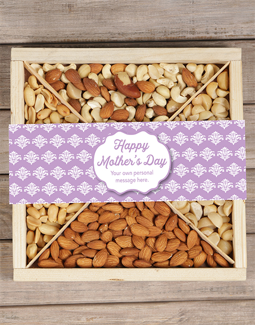 personalised: Personalised Mothers Day Nut Tray!