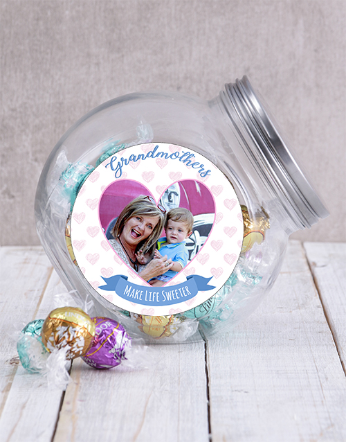 mothers-day: Personalised Grandmother Photo Candy Jar!