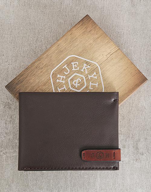 personalised: Jekyll and Hide Woodstock Personalised Wallet!
